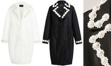 Embellished Solid Coats, Jackets & Vests for Women