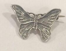 Sterling Silver Butterfly Brooch