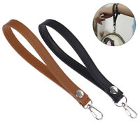 1XPU Leather Wristlet Bag Strap Handle Replacement For Clutch Purse Handbag eo