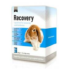 Recovery Liquid Feed for Small Herbivores 10 X 20g Sachets - Highly Palatable