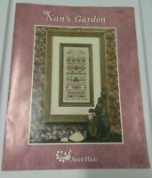 NAN'S GARDEN  - JUST NAN CROSS STITCH  LEAFLET