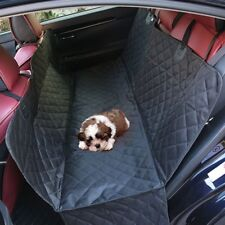 Waterproof Back Rear Seat Cover Hammock Protector Bench Mat 600D Oxford For Pets