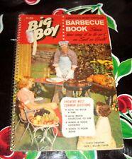 Vintage BIG BOY BARBECUE BBQ Cookbook Cook Book Recipes Kingsford 1960 Charcoal