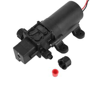 DC24V 80W 5.5L/MIN Diaphragm Self Priming Water Pump + Automatic Pressure Switch