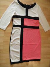 CONLEYS black chices Jerseykleid grafisches Muster Gr. XL TOP  BSu516
