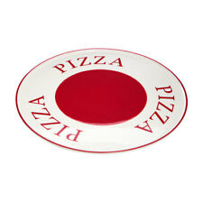 Premier Housewares Hollywood Pizza Plate - Red/cream