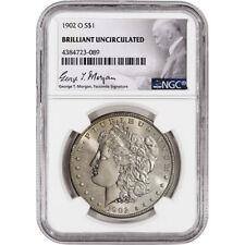 1902-O US Morgan Silver Dollar $1 - NGC Brilliant Uncirculated