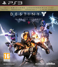 Destiny Il Re Dei Corrotti Legendary Edition PS3 Playstation 3 IT IMPORT