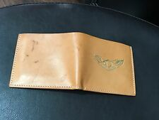 NEW Ralph Lauren RRL Leather Tan Bifold Wallet Made in  Italy