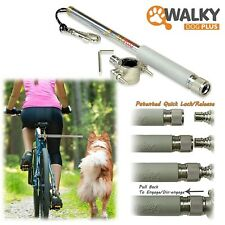 WalkyDog Plus dog walking bike bicycle cycle leash attachment