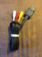 Official Nintendo AV Audio Video Wire! ~ N64 64 Super Snes GameCube ~ Authentic!