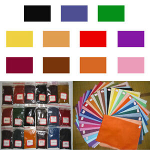 11 Color DIY Textile Paint Tie Dye Powder Kit Sewing Cold Water Craft Fabric Dye
