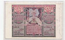I753-BELGIE-GAND EXPOSITION UNIVERSELLE  1913