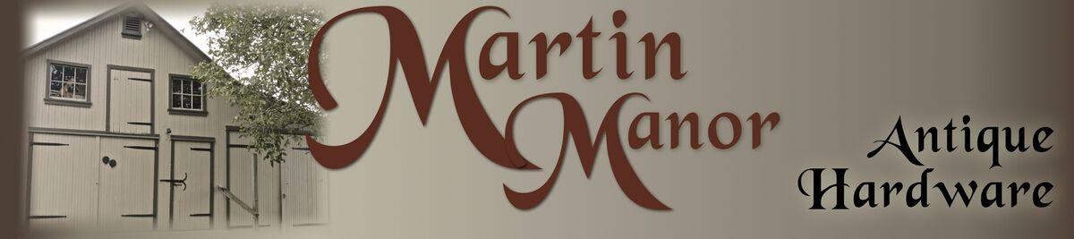 Martin Manor Antique Hardware