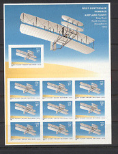 USA 2003 AVIAZIONE/piani/volo/Fratelli Wright Flyer/trasporto 10 V bklt s4658