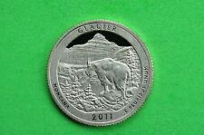 2011-S Deep Cameo GEM Proof (GLACIER) US National Park Quarter