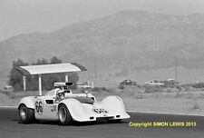 "Chaparral 2G  Jim Hall Riverside Can Am 1968 10x7"" action photo"