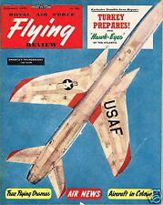 RAF FLYING REVIEW FEB 58: TRIANA/ SUPER SABRE/ SEASTAR CUTAWAY/ TURKET vs USSR?