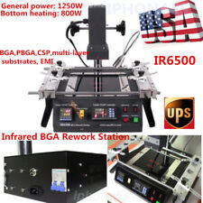 IR6500 ACHI BGA Infrared Soldering Desoldering TECH Rework Station f Xbox360 PS3