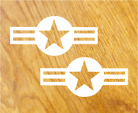 US ARMY STARS Aufkleber Sticker Sterne USA Decal Oldschool Retro Hotrod Tuning