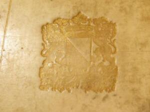 1695 JUVENAL SATYRAE Signed Peter Burmann Samuel Pitiscus Dutch Prize Book