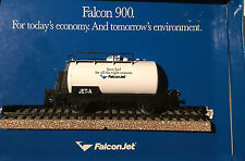 HO Marklin Jet Fuel tank, Falcon 900 Promotional with track, RARE.  No others