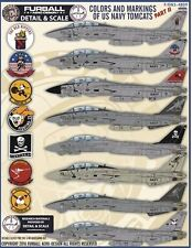 """Furball Aero-Design 1/48 """"Colors and Markings of US Navy Tomcats Part II"""" # S480"""