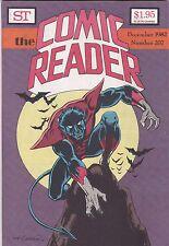 The Comic Reader December 1982 Fanzine Magazine #207 Nightcrawler Cover