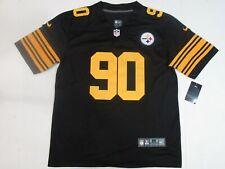 New T.J. Watt #90 Pittsburgh Steelers Men's Color Rush Jersey