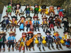 PLAYMOBIL Ouest Western Cowboy Flingueur Cowboy Bandit Shérif
