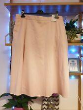 Marks and Spencer blossom Pink Skirt Size 20, pockets midi length