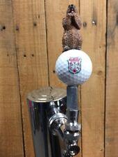 Caddyshack Golf TAP HANDLE Gopher Beer Keg Bushwood Country Club Ball Pull Knob