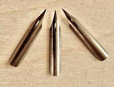 "3 Vintage Esterbrook 357 Extra Fine Flex ""Dream Point"" Dip Pen Nibs"