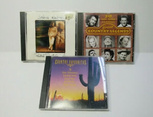 COUNTRY MUSIC CD BUNDLE COUNTRY LEGENDS COUNTRY FAVOURITES JOSHUA KADISON