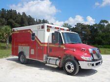 International 4300 Ambulance Taylor Made 1 Owner 7.6 Allison Fl Truck