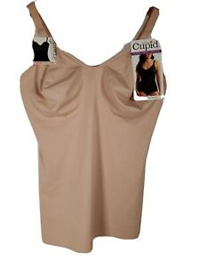 Cupid Wonderful U Women's Extra Firm Control Camisole BEIGE Multiple Sizes