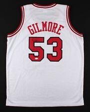26cdb61ea Artis Gilmore Signed Bulls Jersey Inscribed