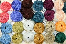 Choose Ur Color 50gr Skein Muench Touch Me Wool+Rayon Sensual Soft Chenille Yarn