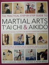 MARTIAL ARTS T'AI CHI & AIKIDO BOOK KENDO IAI-DO KARATE WING CHUN KUNG FU JUDO