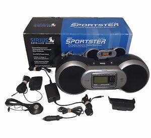 Sirius Radio Sportster Portable Satellite Radio Boombox SP-BB1R SP-R1 Receiver