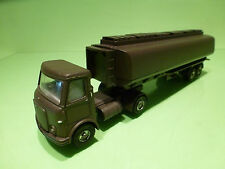 DINKY TOYS  - 945  AEC TANKER  - ARMY MILITARY  - CODE 3 RESTORED CONDITION