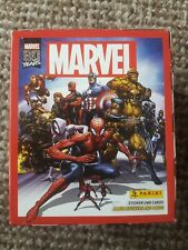 Panini MARVEL 80th Anniversary Stickers, Full Box of 50 Sealed Packets