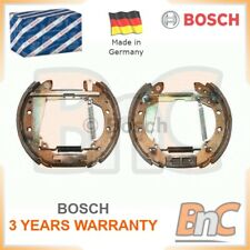 BOSCH REAR BRAKE SHOE SET SEAT VW AUDI OEM 0204114547