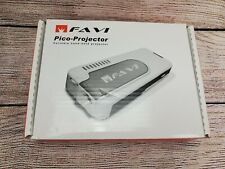 FAVI PJM-1000 Pocket Pico-Projector VGA In Original Box
