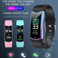 Smart Watch Blood Pressure Heart Rate Monitor Sports Wristband for iOS Android