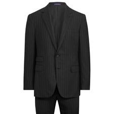 Ralph Lauren Purple Label Gregory Handmade Striped Wool 2 Button Notch Suit 38S