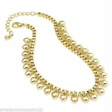 """Mixed Metals 9 - 9.99"""" Length Costume Anklets"""
