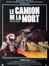 Affiche 40x60cm LE CAMION DE LA MORT /BATTLETRUCK 1983 Michael Beck NEUVE