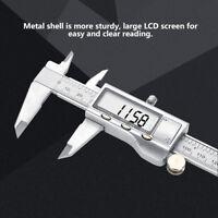 Vernier Digital Caliper Acier Inoxydable Outil de Mesure Micromètre électronique