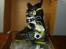 New!! 2014 Dalbello KR2 Fusion Uni Mens Ski Boots Black Trans White 26.5  8.5 US
